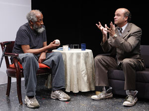 Arthur French and Scott Adsit  in Happy