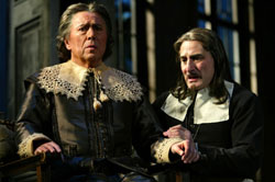 Brian Bedford and Henry Goodman in Tartuffe(Photo © Joan Marcus)