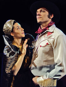 Cara Moretto and Adam Swiderski