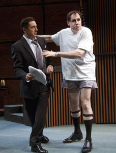 Reg Rogers and Richard Kind in Romance (© Gary Mamay)