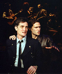 Roger Rees and Steven Pasqualein A Man of No Importance(Photo: Paul Kolnik)