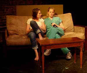 Rebecca Nerz and Emily Rieder in As I Am Fully Known