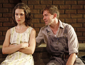 Janie Brookshire and Shawn Fagan in