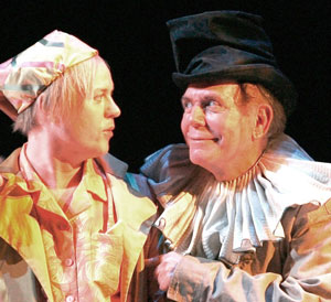 Tom Story and Floyd King in Twelfth Night