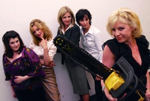 Elizabeth Bell, Elizabeth Whitney, Jamie Heinlein,
