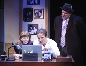 Alice Playten, Peter Scolari, and Bob Ari in It Must Be Him