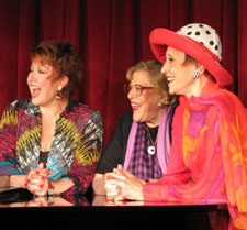 Donna McKechnie, Kaye Ballard and