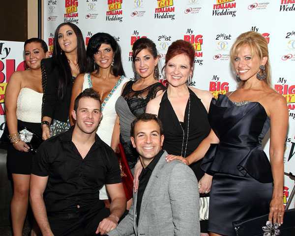 Lauren Manzo, Ashley Holmes, Teresa Giudice, Jacqueline Laurita, Caroline Manzo, and Dina Manzo