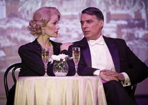 Jody Stevens and Robert Cuccioli in Dietrich and Chevalier
