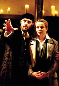 Mark Strong and Emily Watsonin Twelfth Night