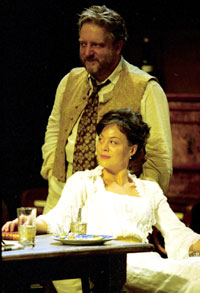 Simon Russell Beale and Helen McCroryin Uncle Vanya