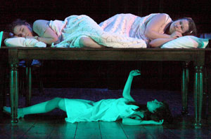 Audrey Esparza, Vanessa Aspillaga, and Marina Pulido