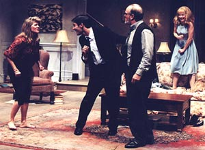 Judith Ivey, Ty Mayberry, James Black, and Elizabeth Bunchin Who's Afraid of Virginia Woolf?(Photo: Jim Caldwell)