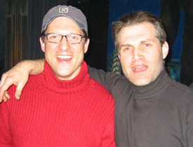 Christopher Sieber (l) and Marc Kudisch(Photo: Jim Caruso)