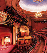 Interior of the American Airlines Theatre
