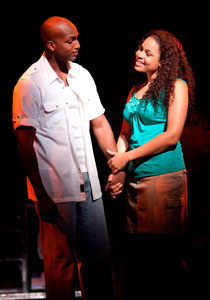 Clifton Oliver and Jordin Sparks