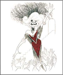 Carol Channing in Hello, Dolly!