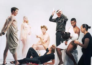A publicity image for Men Go Down