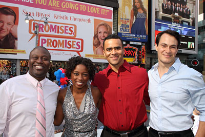 Tituss Burgess, Montego Glover, Christopher Jackson, and Matt Bogart