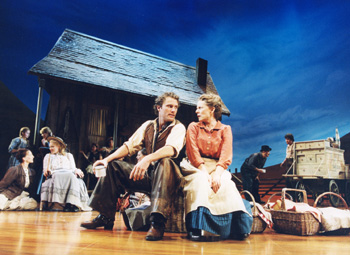 Stephen R. Buntrock and Patty Duke in Oklahoma!(Photo: Joan Marcus )