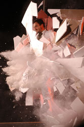 A scene from Fuerza Bruta