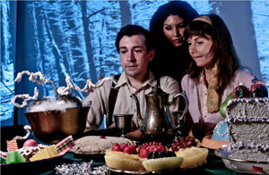 Dustin Cross, Alicia Fitzgerald and Carly Howard