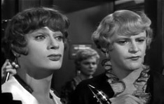 Josephine and Daphne,a.k.a. Tony Curtis and Jack Lemmon,in Billy Wilder's Some Like It Hot