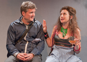 Charlie Kevin and Patricia Buckley in Trans-Euro Express