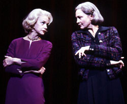 Swoosie Kurtz and Cherry Jones in Imaginary Friends(Photo © Joan Marcus)