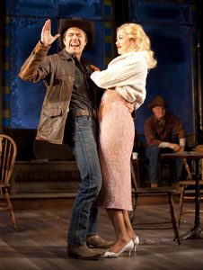 Noah Bean and Nicole Rosenburg