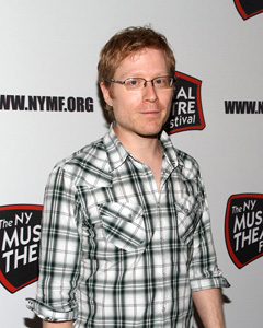 Anthony Rapp at the NYMF press preview