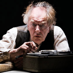 Michael Gambon in Krapp's Last Tape