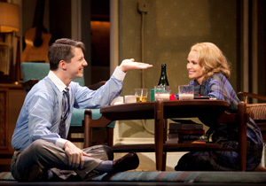 Sean Hayes and Kristin Chenoweth in Promises, Promises (© Joan Marcus)
