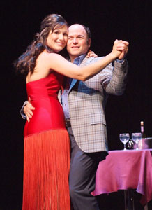 Stephanie J. Block and Jason Alexander