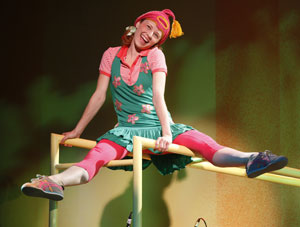 Hayley Podschun in Freckleface Strawberry the Musical