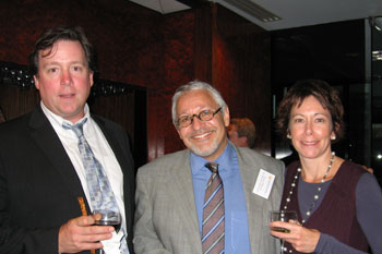 Ray Cullom, Charles Flateman, and Trish Santini