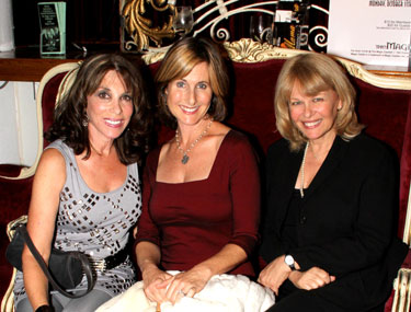 Kate Linder, Cathy Silvers and Ilene Graff