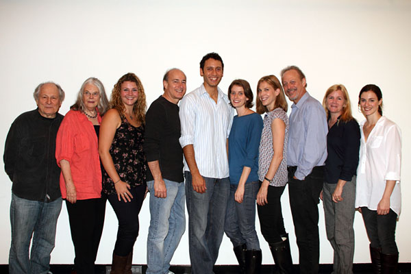 David Margulies, Lois Smith, Meredith Holzman, Peter Friedman, Elliot Villar, 