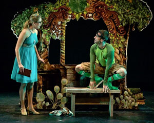 Hanley Smith and Curtis Holbrook in Frog Kiss