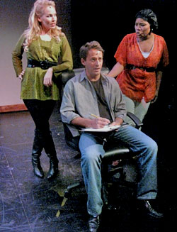 Tiffan Borelli, Paul Amodeo, and Amber A. Harris in