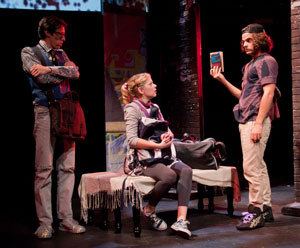 Jason Michael Snow, Jillian Louis, and Zachary Clause
