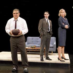 Dan Lauria, Keith Nobbs, and Judith Light in Lombardi