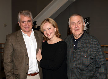 David Thompson, Susan Stroman, and John Kander