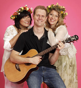 Ann Harada, David Hein, and Liz Larson in