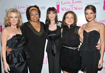 Erin Dilly, Aisha de Haas, Barbara Feldon, Tovah Feldshuh,
