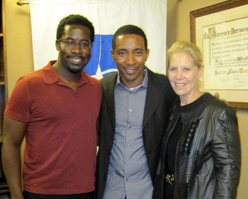 Daniel Beaty, Charles Randolph-Wright, and Daryl Roth