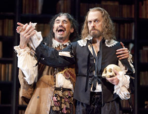 Mark Rylance and David Hyde Pierce in La Bete