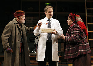 John Horton, Matt Letscher, and Jayne Houdyshell