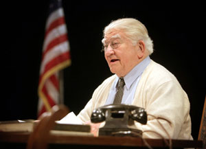 Ed Asner in FDR
