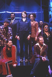 Jennifer Laura Thompson (center)and cast in Little Fish(Photo: Joan Marcus)